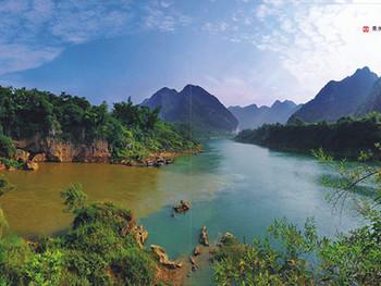 广西红水河都安三岛湾国际度假区