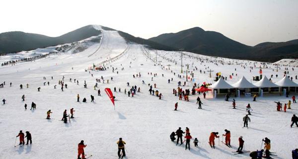 【激情滑雪】竹林东汤峪桂林畔滑雪一日游古三日自助游蓝田攻略图片
