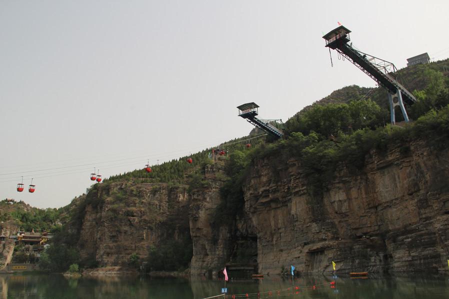【2天1晚】秦岭十一渡漂流门票2张、云泽山庄环北京自行车图片