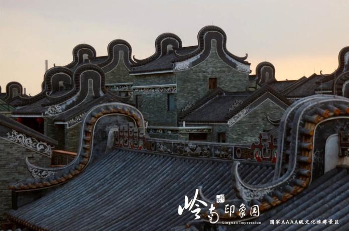 新建了传统与现代相结合的岭南民居共38栋.