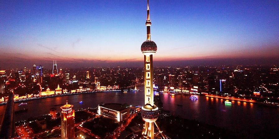 自选东方明珠or金茂大厦门票2张,上海浦西开元大酒店1晚加中西自助早餐2 同程旅游周末游