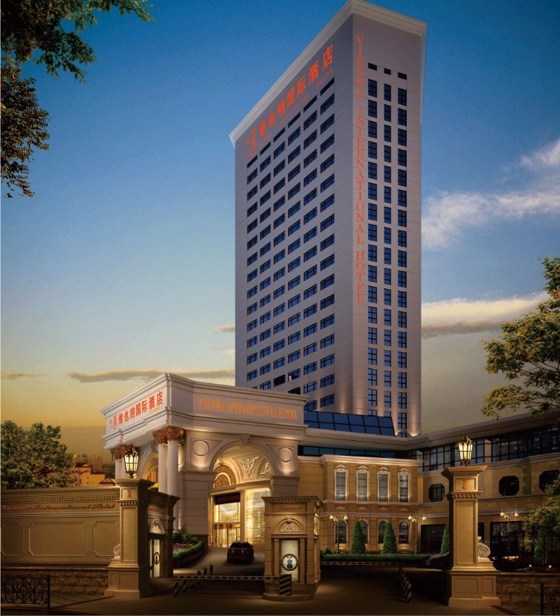 自選上海三高建筑,入住上海火車站周邊維也納國際酒店(龍門店),方便出