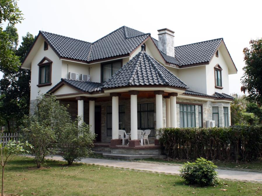 大型豪华别墅外观