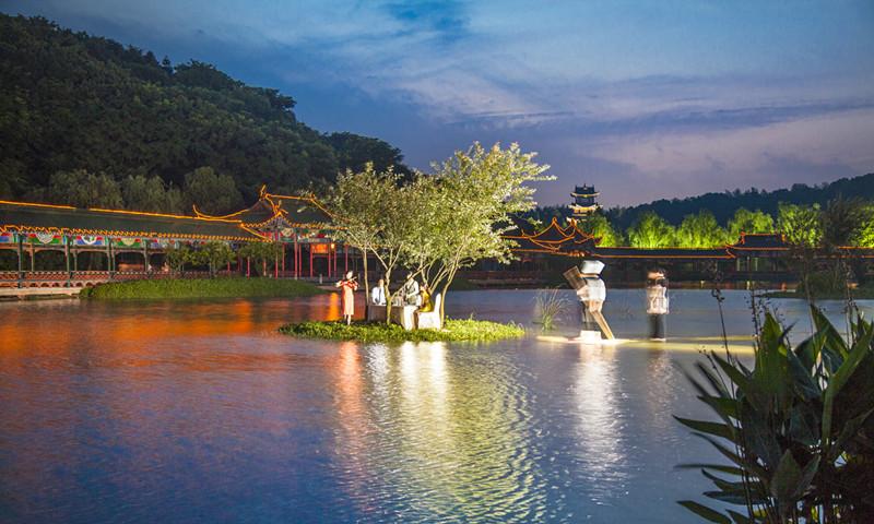 浙江湘湖旅游度假区是国家aaaa级景区,中国休闲旅游最佳目的地 杭州