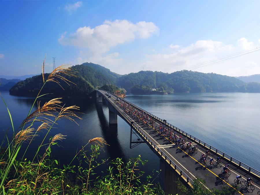 千岛湖绿道骑行