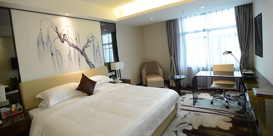 酒店欧式装修,典雅,**,气派,具有与众不同的文化氛围;拥有标准房