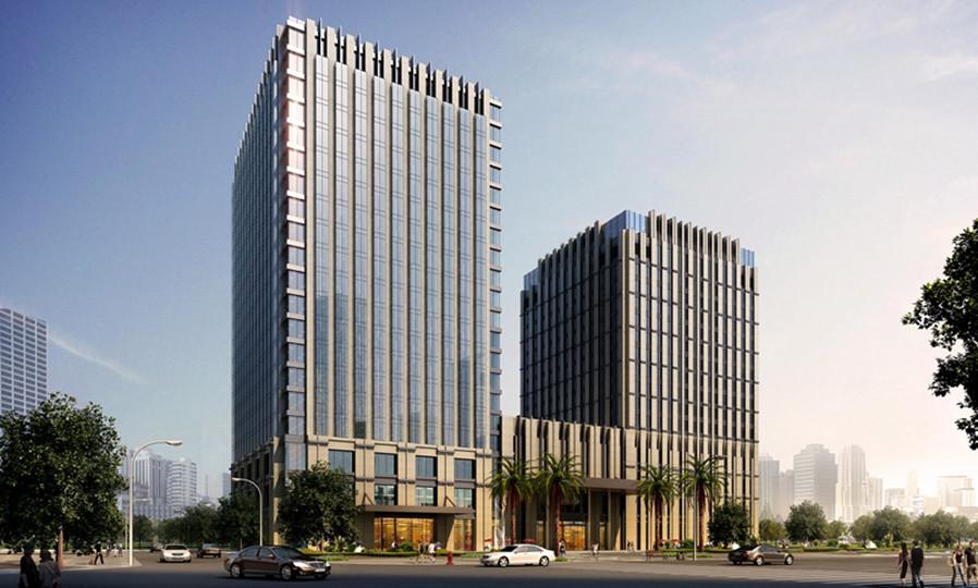 与其紧邻的办公楼组成双子塔,将提供种类齐全,**奢华的个性化服务.