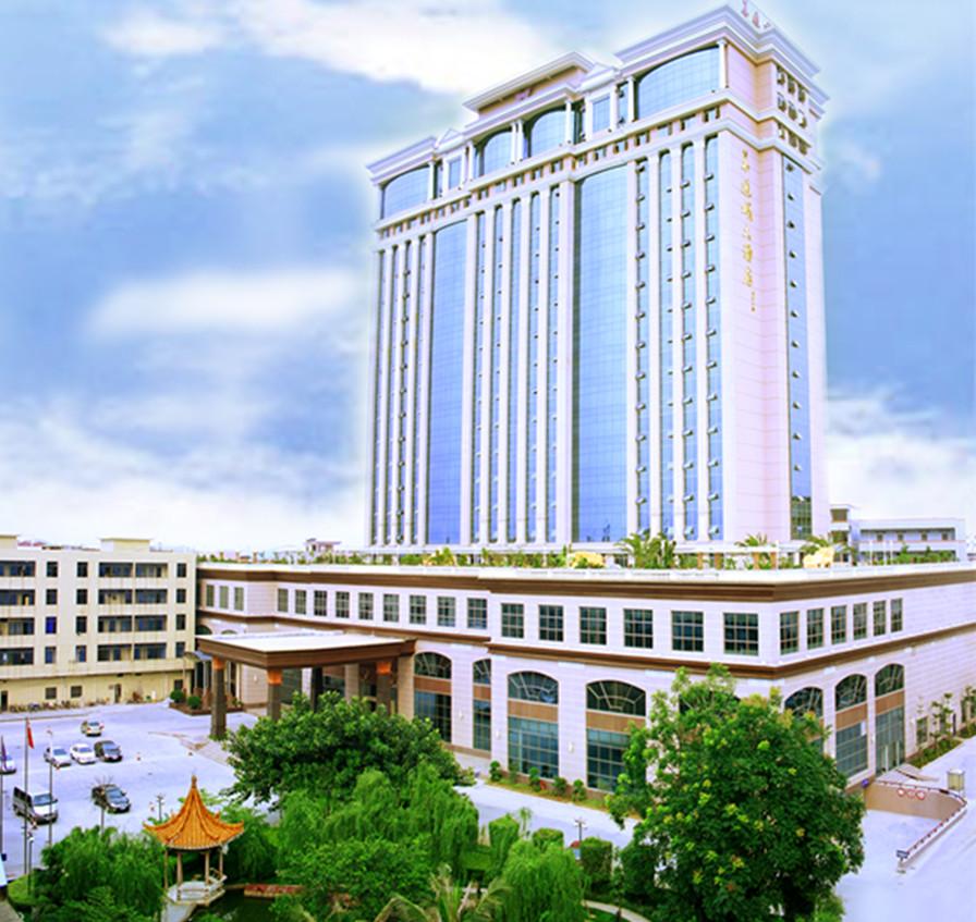 是企石镇唯一一家按国际化标准建造的酒店