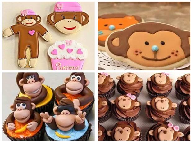 猴年必吃美食—萌萌的小猴子糖霜饼干教程!