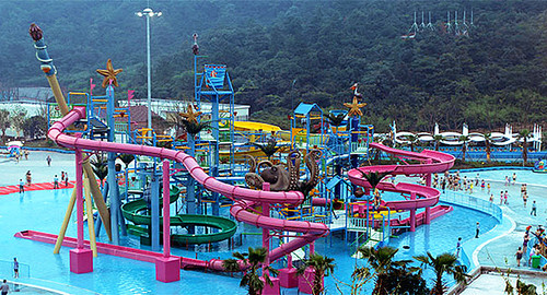套餐】畅想主题乐园环球动漫嬉戏谷(门票2张),入住常州雪堰九州宾馆