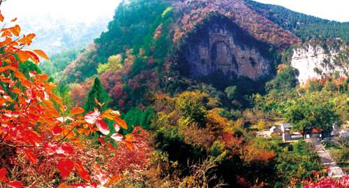 【 青州仰天山国家森林公园 灵泽洞】旅游好去处,感受大自然的神奇