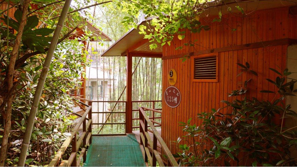 小木屋,于山水间构造奢华自然派酒店,是青城山-外山首家原生态园林式