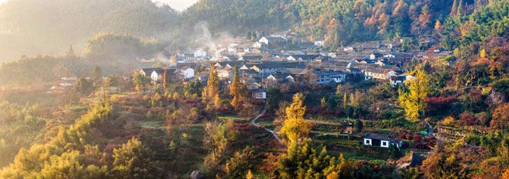 游山水秀美的四明山森林公园,阳明温泉美容养  丹山赤水风景名胜区