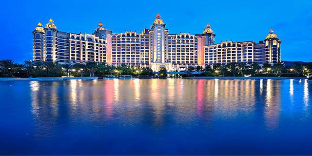 珠海长隆横琴湾酒店1晚 双人海洋王国2日无限次 赠送水世界 自助餐或