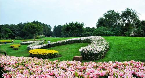 典雅欧式别墅后花园