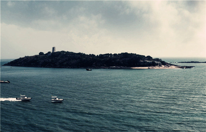 霞涌宝塔岛